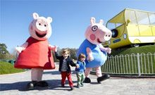 Peppa Pig Theme Park!  OMG, I want to go here! Uh, I mean, omg, my daughter wants to go here :D