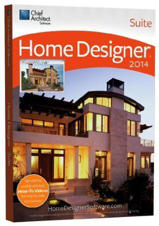 Home Designer Suite 2014 - Software for home design, remodeling, interior design, kitchens and baths, decks and landscaping, and cost estimation