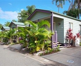 Discovery Holiday Parks Rockhampton - 10 acres with beautifully landscaped gardens, variety of cabins, villas, caravan and camping sites.  Offering two swimming pools, jumping pillow, half court tennis and playground.