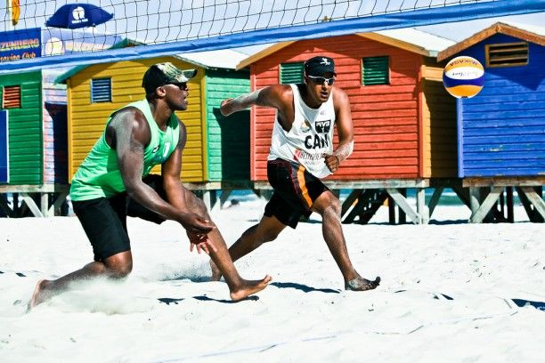 Beach volleyball Fun: Photo: Christopher Lenz as sent to Cape Town Tourism flickr group    www.capepointroute.co.za