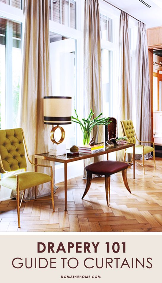 Everything you need to know about window treatments from interior designer Estee Stanley // curtains, drapes, window treatments