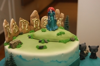 Merida cake. How perfect is this?