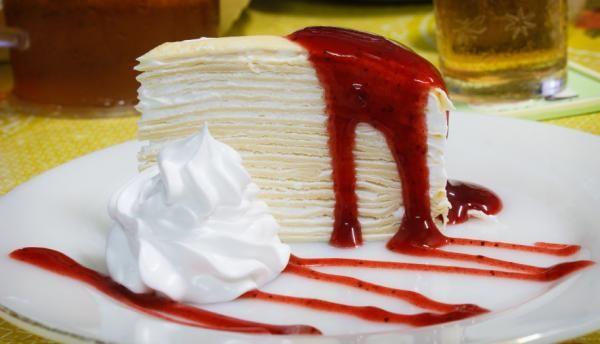Receta de Torta de panqueques