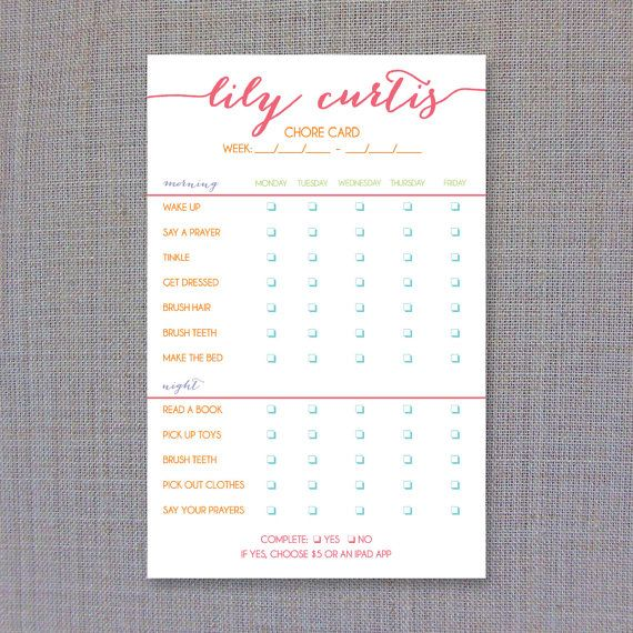 154 best Creative Chore Charts images on Pinterest Kid chores - chore chart online