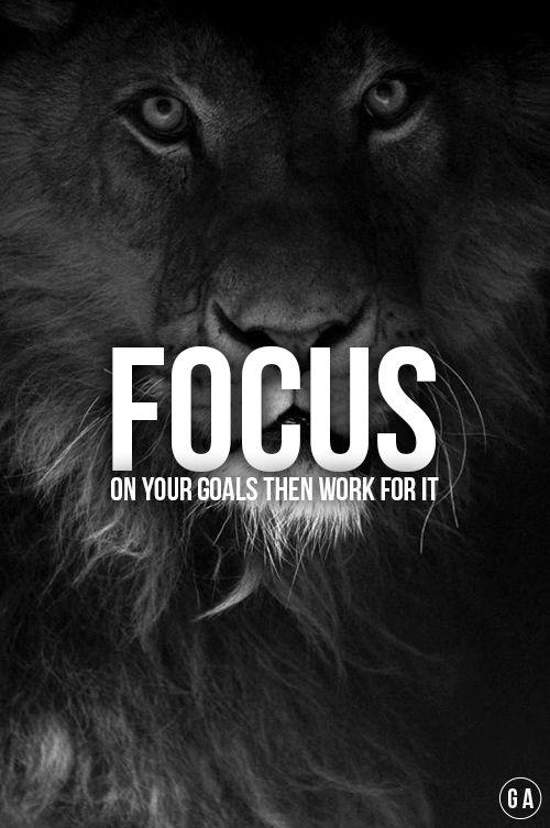 Fitness my lifestyle — gymaaholic: Focus. GYMAHOLIC