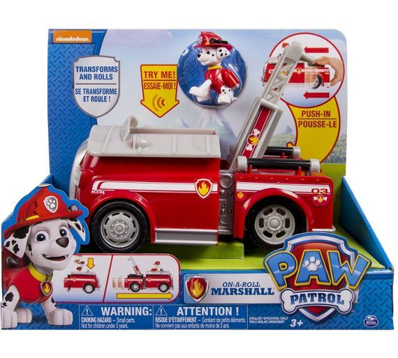 Buy Paw Patrol On A Roll Vehicle Assortment - Marshall