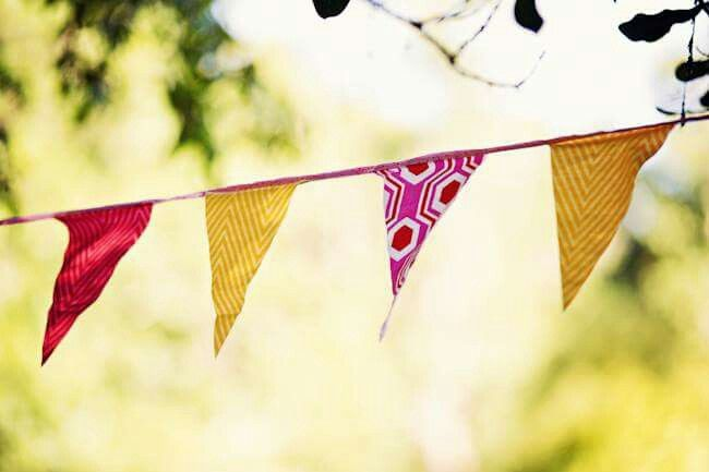 Picnic Wedding  bunting