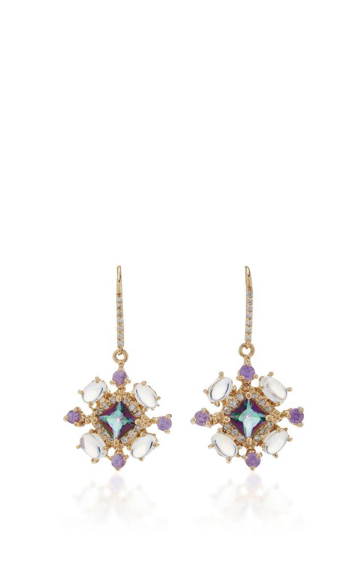 Mystic Topaz Earrings by EDEN PRESLEY