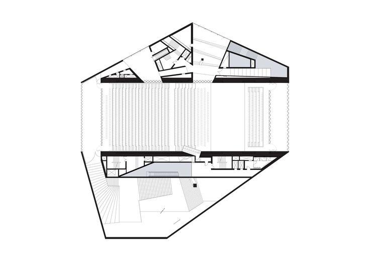 Casa da Musica,Level 04 Plan © OMA