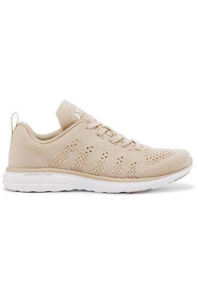 Athletic Propulsion Labs - Techloom Pro Cashmere-blend Mesh Sneakers - Beige - US5.5