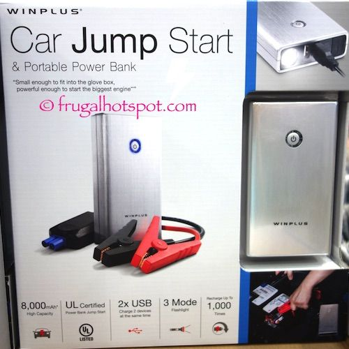 Winplus Car Jump Start & Portable Power Bank. #Costco #FrugalHotspot