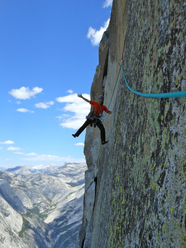 A Skinny Lightweight Rope Akio Joy Finishes Half Dome S