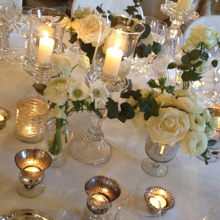 """The Dinner Wedding At """"La Suvera"""" Flora design: La Rosa Canina FIRENZE"""