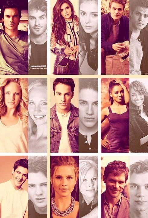 Perfect cast of TVD