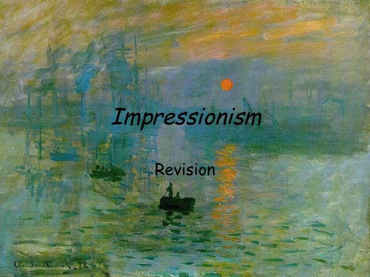claude monet impression sunrise essay Impression, sunrise (french: impression, soleil levant) is a painting by claude  monet shown at  124 isbn 0-7148-2230-2 jump up ^ hopkin, john house   with an essay by david (2007) impressionists by the sea london: royal  academy.