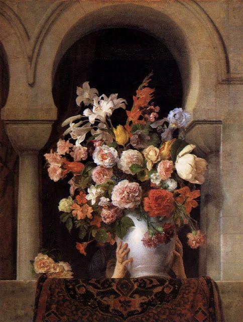 Βάζο με λουλούδια στο παράθυρο χαρεμιού (1881)