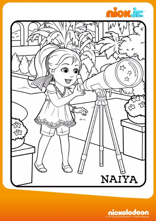 Colora Naiya Disegna Con Dora Friends Into The City Su Nick Jr