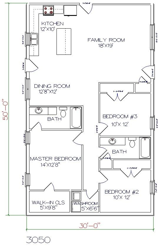 179 best house plans images on pinterest small house for 30x50 shop plans