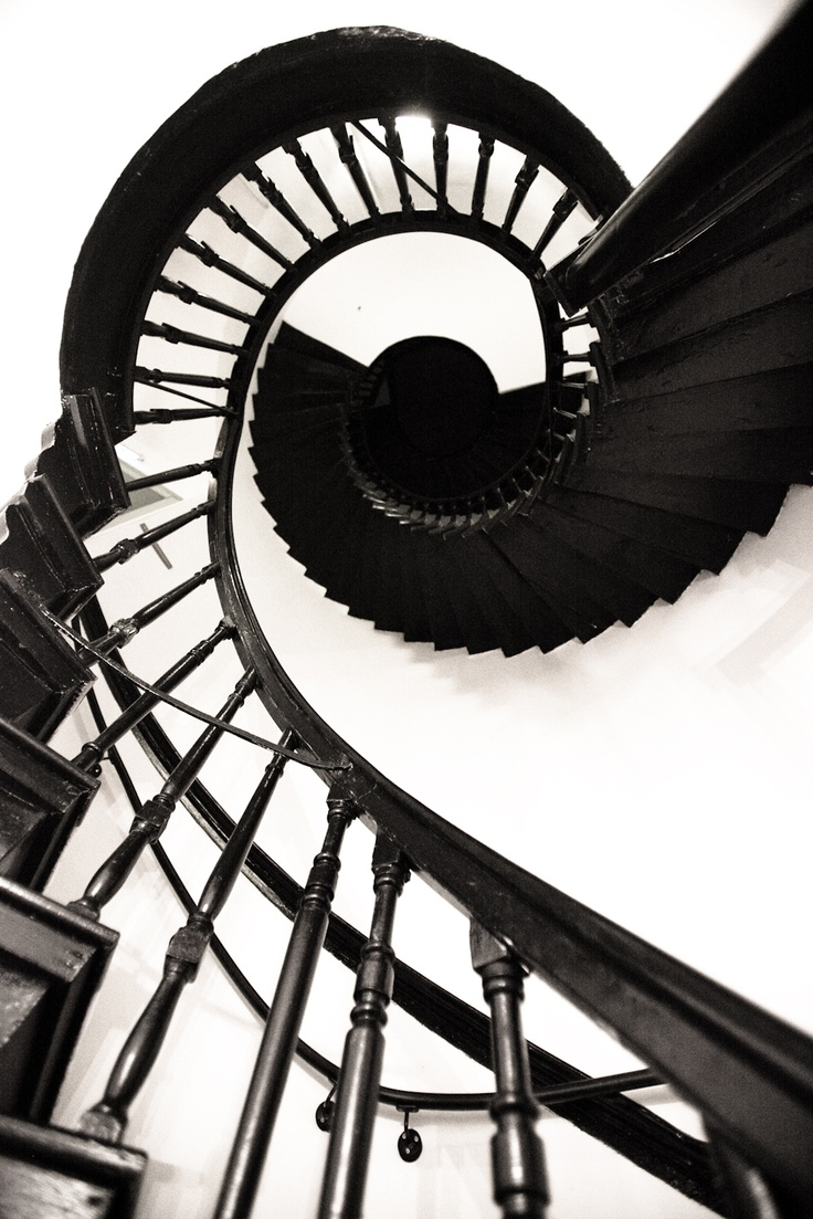 The Beautiful Spiral Staircase at Bellinter House