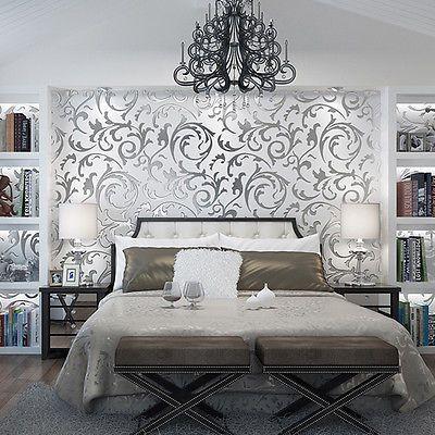 Die besten 25+ Damast wand Ideen auf Pinterest Damast - moderne tapeten schlafzimmer
