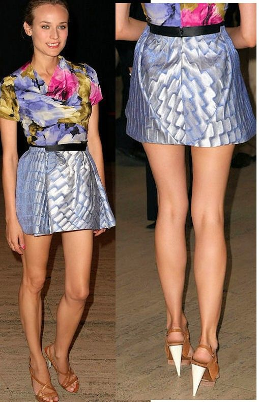 Legs For Days Diane Kruger Fitspiration Pinterest