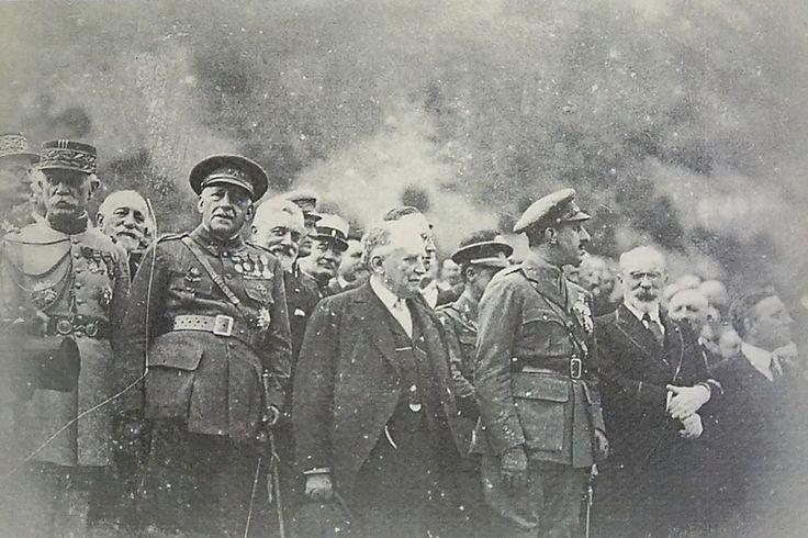 Inauguration de la gare de Canfranc (Espagne), en 1928.