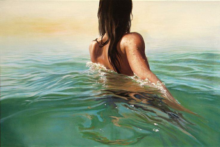"""Saatchi Online Artist: Arturo Samaniego; Oil, 2013, Painting """"Journey"""""""