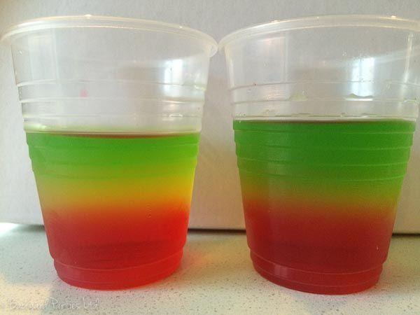 traffic light jellies