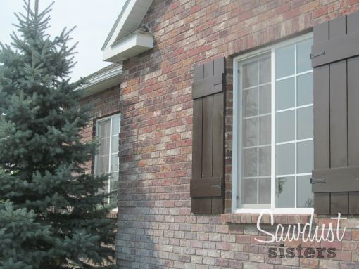 25 best ideas about window shutters on pinterest wood - Board n batten exterior shutters ...