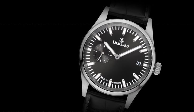 DK 100 - Manually wound calibres - Sporty elegant line - Models | Watch-Manufacture Damasko