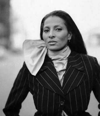I interviewed, Ms. Pam Grier, in Dallas, Texas (back in 2010). Lord, this woman still has it.