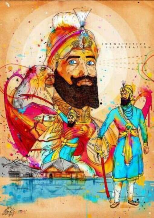 Guru gobind singh lion