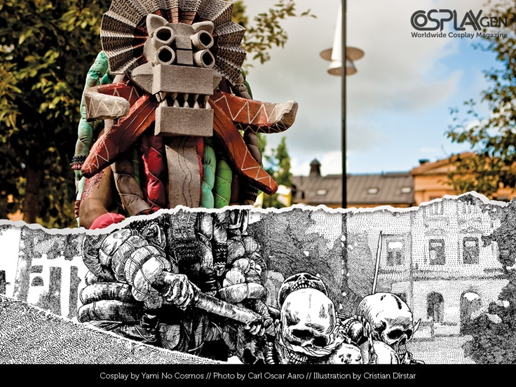 Cosplay GEN #05 - remixed photo as illustration by ~otakumag