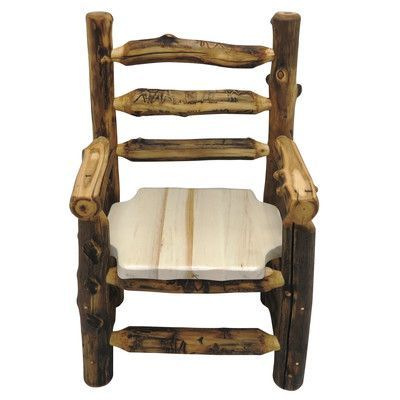 MountainWoodsFurniture Aspen Grizzly Arm Chair Finish Beeswax / Linseed Oil