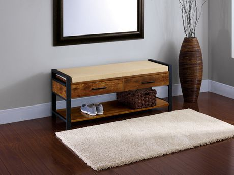 home trends entryway bench for sale at walmart canada buy furniture online at everyday low. Black Bedroom Furniture Sets. Home Design Ideas
