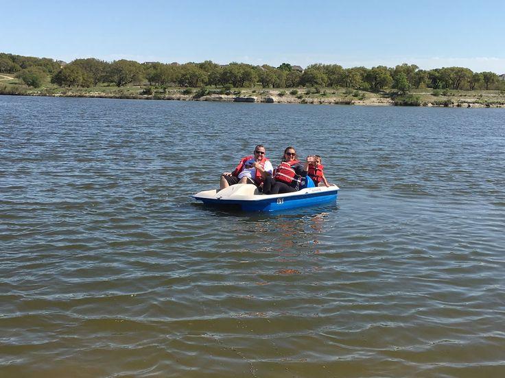 Pedal Boat Rentals on Brushy Creek Lake in Cedar Park