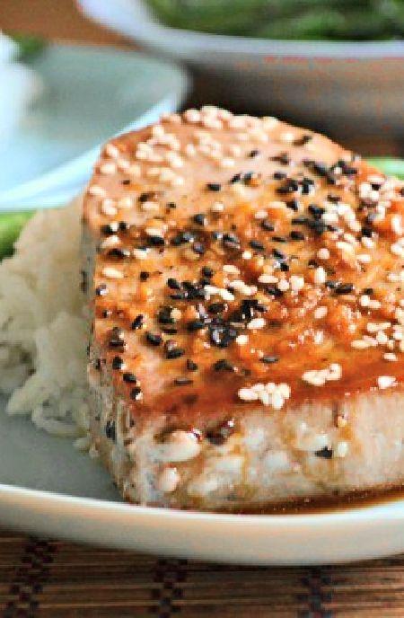 Sesame tuna steaks -- Low FODMAP Recipe and Gluten Free Recipe #lowfodmaprecipe #glutenfreerecipe #lowfodmap #glutenfree