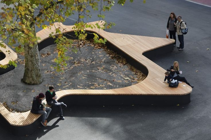 Tree Bench Designs That Literary Embrace Nature