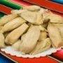Receta de tamales dulces con pasitas hechos en casa.