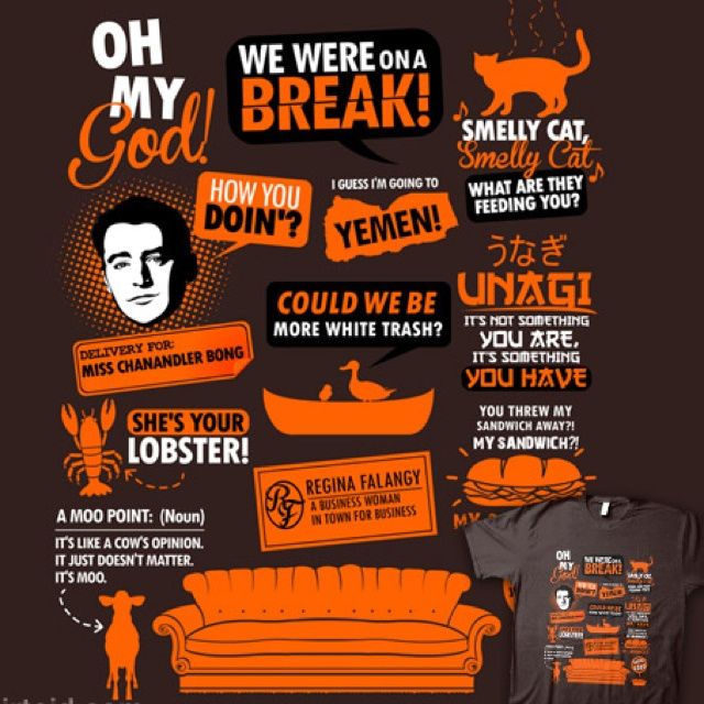 Friends Quotes Tv One Liners