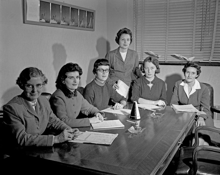 Women Scientists at NASA in January 1959 January 1959. Women Scientists Lucille Coltrane Jean Clark Keating Katherine Cullie Speegle Doris 'Dot' Lee Ruth Whitman and Emily Stephens Mueller.
