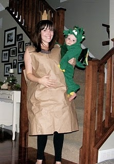 paperbag princess (an easy last minute costume I have done several time before) with the addition of a cute baby dragon!: Things I Love, Baby Dragon, Halloween Costumes, Bags Princesses, Paper Bags, Paperbag Princesses Costumes, Minute Costumes, Costumes Fun, Costumes Ideas