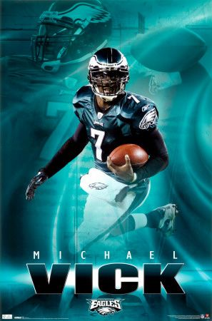 michael vick eagles | ... .allposters.com.br/-sp/Eagles-Michael-Vick-2010-posters_i7569179_.htm
