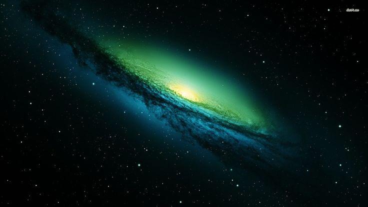 Jonge sterrenstelsels waren…..groen!