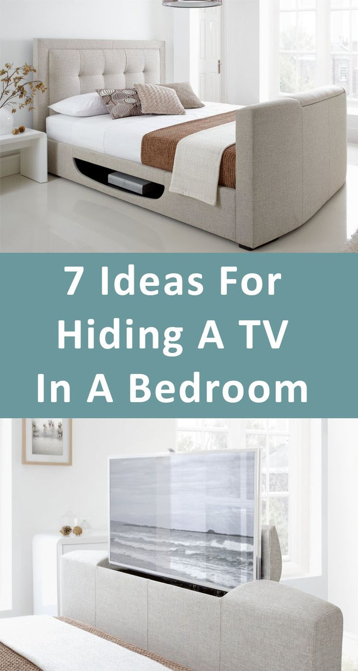 7 Ideas For Hiding A TV In A Bedroom