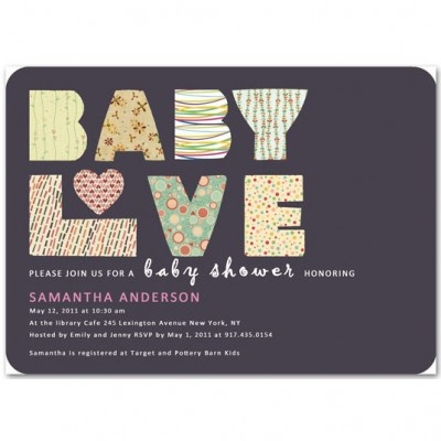 best unique baby shower invitations images on   unique, Baby shower