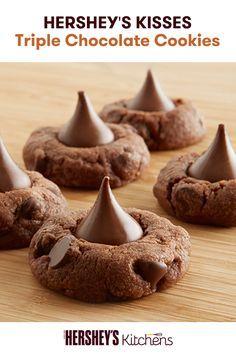 cookies chocolate cookie recipes hersheys kisses blossom cookies ...