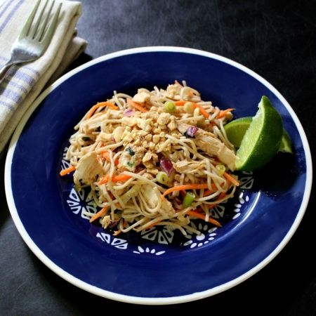 Peanut Soba, Cabbage, And Chicken Salad Recipes — Dishmaps
