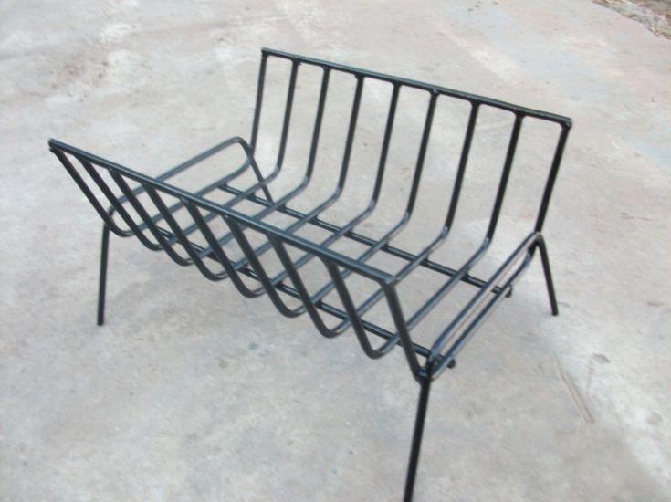 Leñero - Brasero Fabricado En Hierro Del 8 - $ 220,00 en MercadoLibre