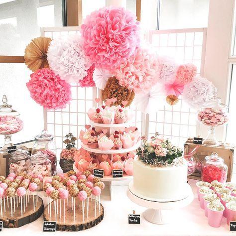 Candybar in Rosa Torten: mundus Hannover Fotos: Anja Schneemann